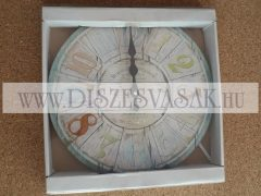 Fali óra üveg - 1828