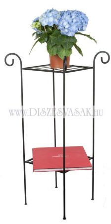 Two-tier flower pot holder stand