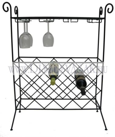 Palacktartós kisasztal pohártartóval - HP-047