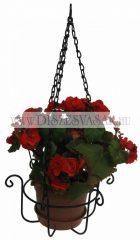 Hanging flower basket, large
