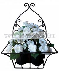 Wall flower plant holder