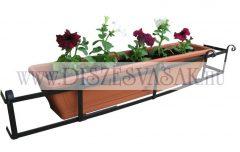 Balkonládatartó ablakba 70-128 cm - HP-100