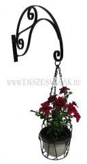 Wandhalter für Blumentopf - ein Arm